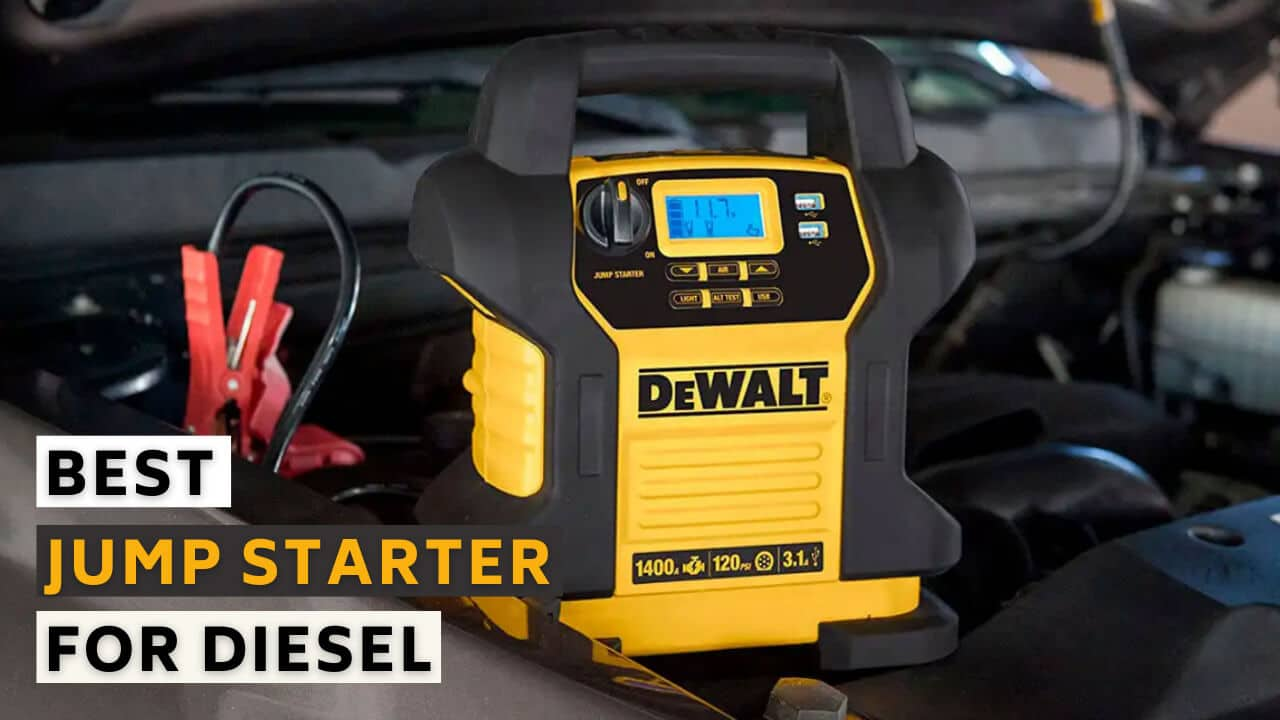 Best jump starter for diesel