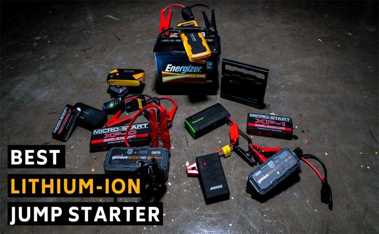 Best lithium-ion jump starter