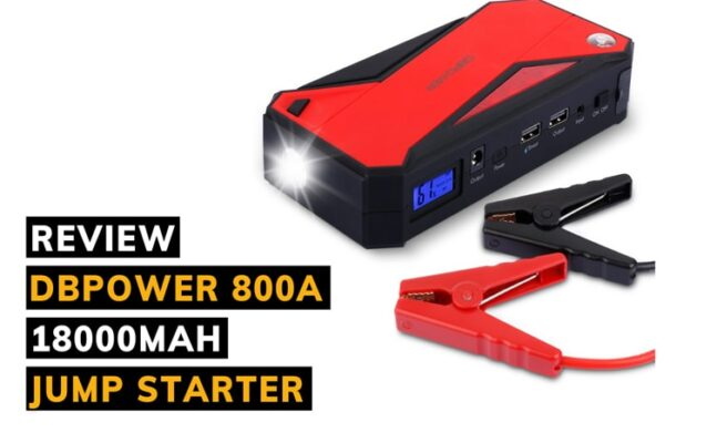 Dbpower 800a 18000mah portable jump starter review