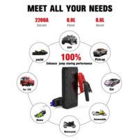 TOPVISION 2200A Peak 20800mAh Portable Car Power Pack -3