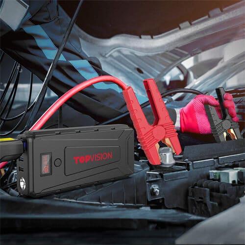 TOPVISION 2200A Peak 20800mAh Portable Car Power Pack -7