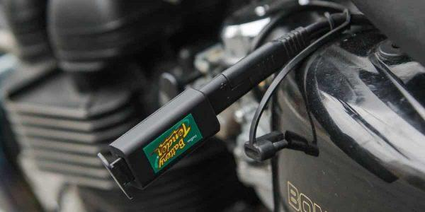a motorcycle charger