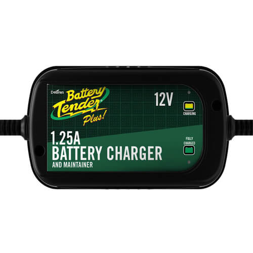 Battery Tender Plus Charger and Maintainer Automatic 12V Powersports Battery Charger