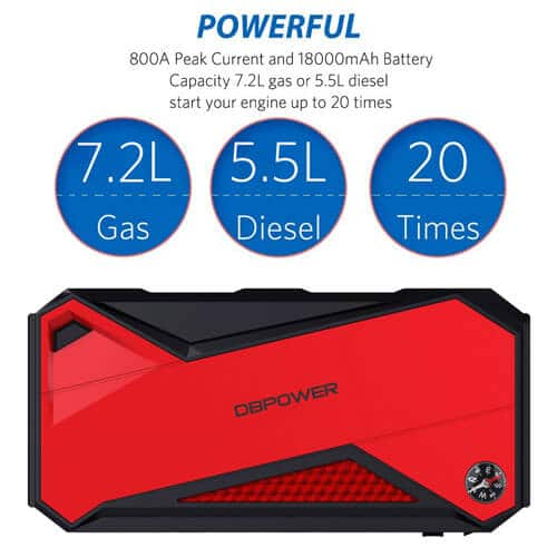 DBPOWER 1000A Portable Car Jump Starter_3