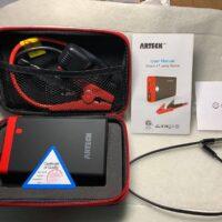 Arteck Car Jump Starter Auto Battery Charger-2