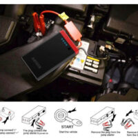 Arteck Car Jump Starter Auto Battery Charger-7