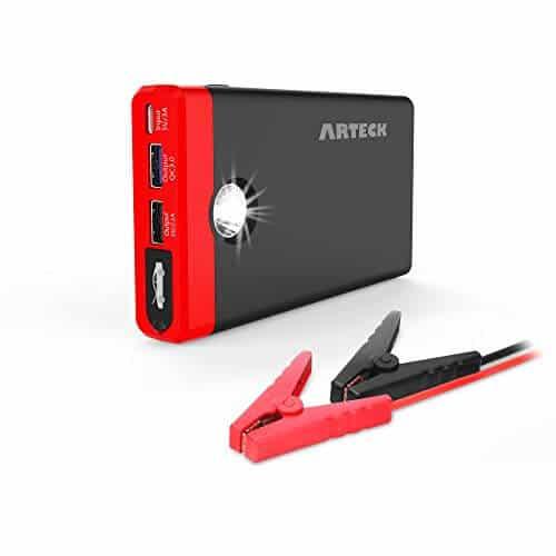 Arteck Car Jump Starter Auto Battery Charger