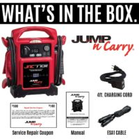 Clore Automotive Jump-N-Carry JNC770R 12 Volt Jump Starter-1