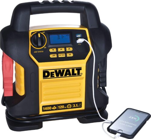 DEWALT DXAEJ14 Digital Portable Power Station Jump Starter-3