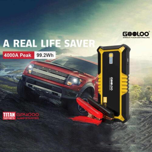 GOOLOO A Peak SuperSafe Car Jump Starter