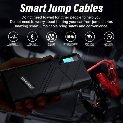 Imazing Portable Car Jump Starter A Peak
