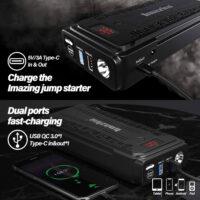 Imazing Portable Car Jump Starter - 2500A Peak 20000mAH-5