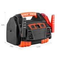 Kinverch Portable Power Station Jump Starter 1500 Air Compressor-1
