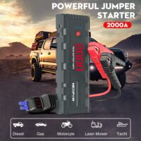 NEXPOW 2000A 18000mAh Car Jump Starter with USB Quick Charge 3.0-5