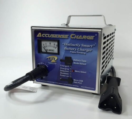 48volt 17amp Golf Cart Battery Charger with EZ-Go RXV connector-1