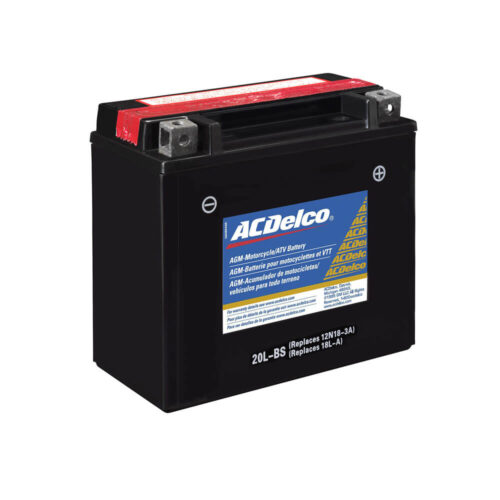ACDelco ATX20LBS Specialty AGM Powersports JIS 20L-BS Battery-1