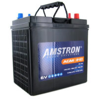 Amstron GC2 6V AGM Golf Cart, Marine, RV Battery-1