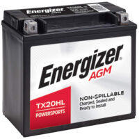 Energizer TX20HL AGM Motorcycle and Atv 12V Battery