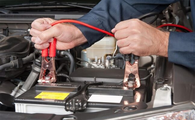 How to charge a car battery at home