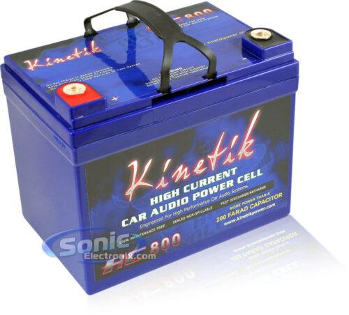 Kinetik HC BLU W V High Current AGM Car Audio Battery