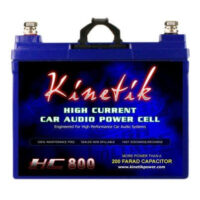 Kinetik HC800 BLU 800W 12V High Current AGM Car Audio Battery