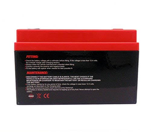 MMG YTZ14S Z14S Lithium Ion Sealed Factory Activated Powersports Battery-5