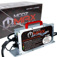 MODZ Max36 15 AMP EZGO TXT Battery Charger for 36 Volt Golf Carts-1
