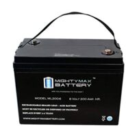 Mighty Max Battery 6V 200AH SLA Battery-1