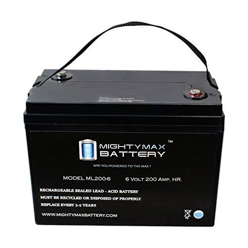 Mighty Max Battery 6V 200AH SLA Battery-1