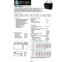 Mighty Max Battery 6V 200AH SLA Battery-4