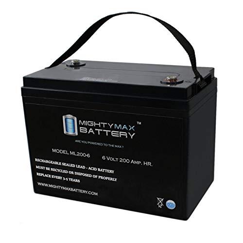 Mighty Max Battery 6V 200AH SLA Battery