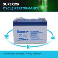Renogy Deep Cycle Hybrid Gel 12 Volt 100Ah Battery-4