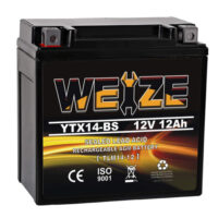 Weize YTX14 BS ATV Battery High Performance