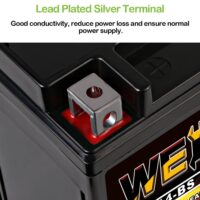 Weize YTX14 BS ATV Battery High Performance-4