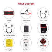 GOOLOO Upgraded 2000A Peak SuperSafe Car Jump Starter-1