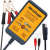 Mroinge 12V 2A Lead Acid & Lithium(LiFePO4) Automatic Trickle Battery Charger