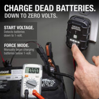 NOCO GENIUS1, 1-Amp Fully-Automatic Smart Charger, 6V And 12V Battery Charger-5
