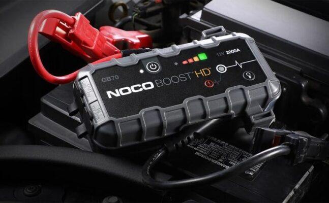 NOCO GB70 Boost HD 2000A UltraSafe Lithium Jump Starter review
