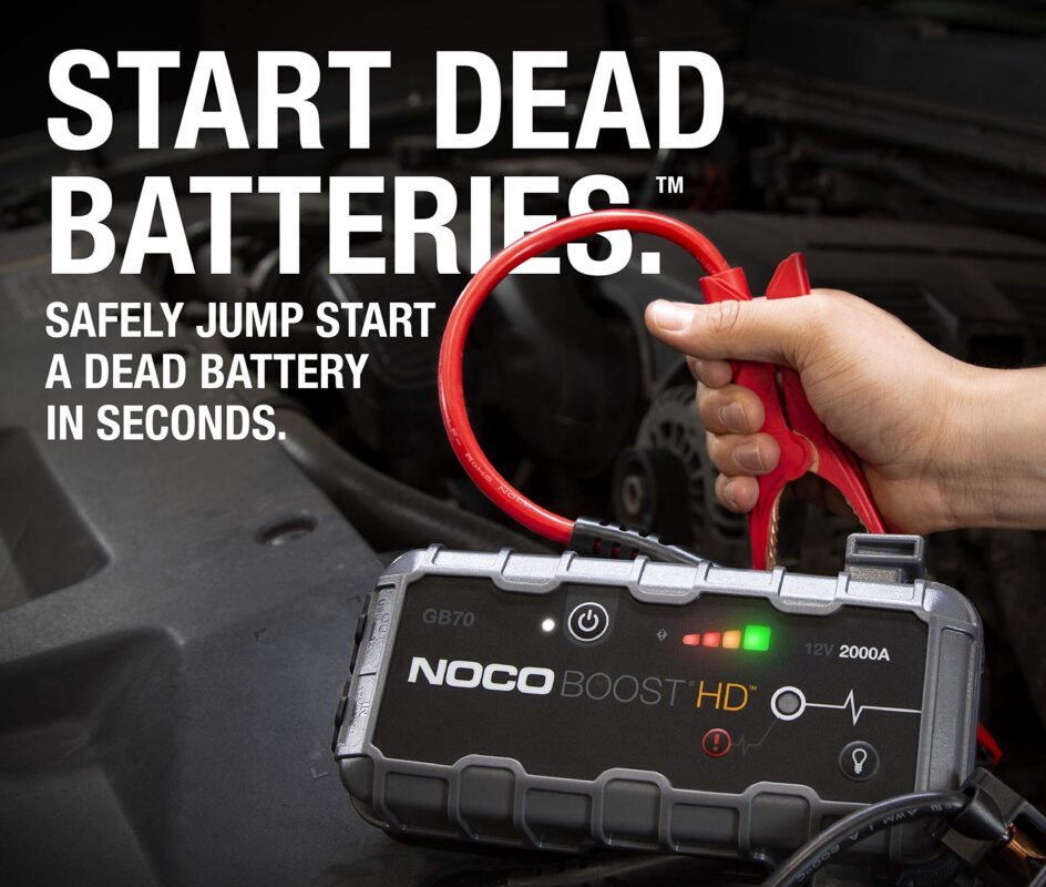 NOCO GB70 Compact Lithium Jump Starter Review