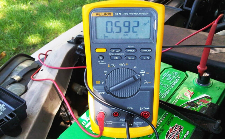 Test Batteries With A Multimeter