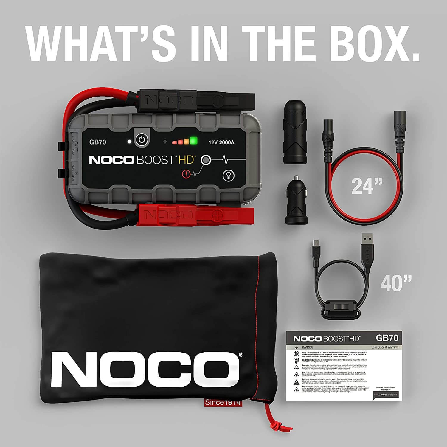 Unboxing the Noco GB70