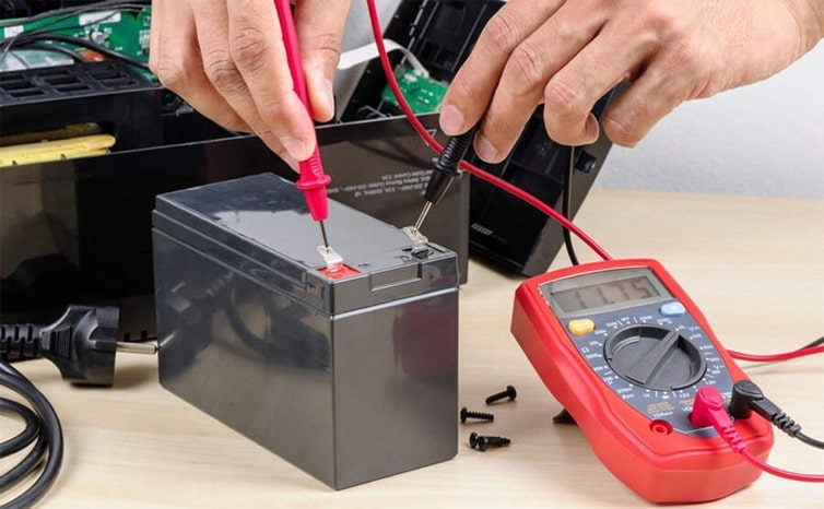 What is car battery voltage