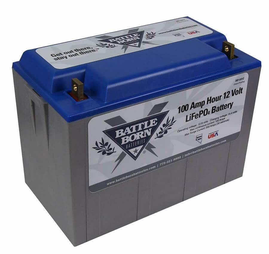 A Deep Cycle Battery