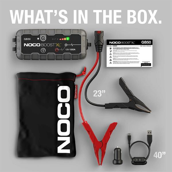 NOCO Boost XL GB50 Unboxing