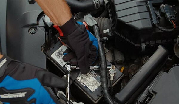 Steps for car battery disconnection