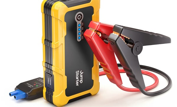 Which are the reasons causing the portable jump starter dead battery