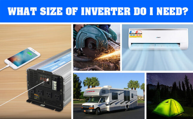 What Size Of Inverter Do I Need